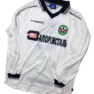 METALURH ZAPORIZHYA 2000/2002 AWAY SHIRT #5 [MATCH WORN]