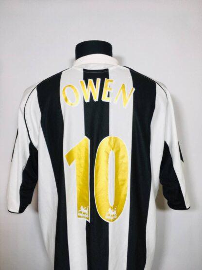 NEWCASTLE UNITED 2005/2006 HOME SHIRT #10 OWEN
