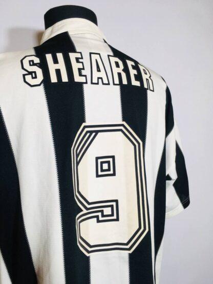NEWCASTLE UNITED 1995/1997 HOME SHIRT #9 SHEARER