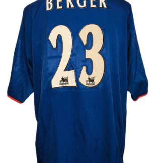 PORTSMOUTH 2003/2005 AWAY SHIRT #23 BERGER [MATCH WORN]