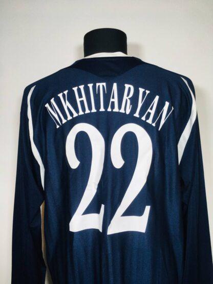 METALURH DONETSK 2009/2010 AWAY SHIRT #22 MKHITARYAN [L/S]