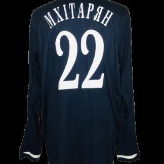 METALURH DONETSK 2010/2011 AWAY SHIRT #22 MKHITARYAN [L/S]