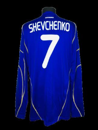 DYNAMO KYIV 2010/2011 AWAY SHIRT #7 SHEVCHENKO [L/S]