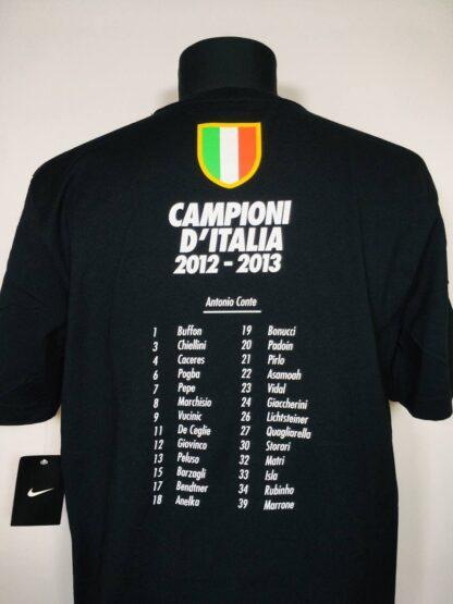 JUVENTUS 2012/2013 CAMPIONI D'ITALIA TEE