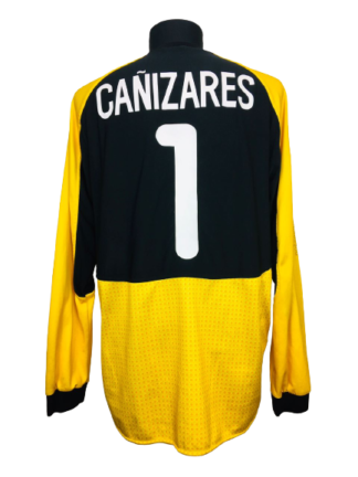 VALENCIA 2000/2001 GK SHIRT #1 CANIZARES [MATCH ISSUE]