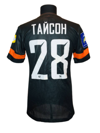 SHAKHTAR 2013/2015 HOME SHIRT #28 TAISON [MATCH WORN]