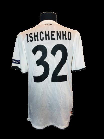 SHAKHTAR 2010/2012 AWAY SHIRT #32 ISHCHENKO [MATCH WORN]