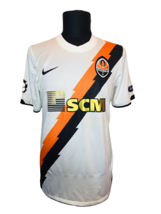 SHAKHTAR 2010/2012 AWAY SHIRT #32 ISHCHENKO [MATCH WORN]