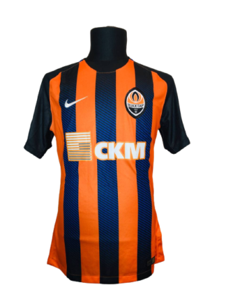 SHAKHTAR 2018/2019 HOME SHIRT #50 BOLBAT [MATCH WORN]