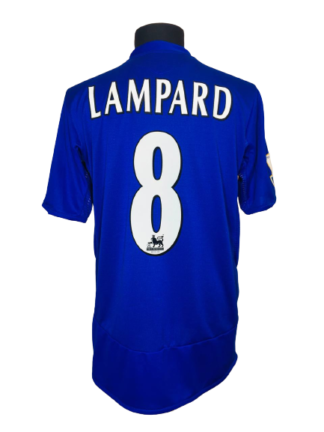 CHELSEA 2005/2006 HOME SHIRT #8 LAMPARD