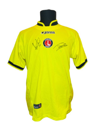 CHARLTON ATHLETIC 2004/2005 AWAY SHIRT [SIGNED]