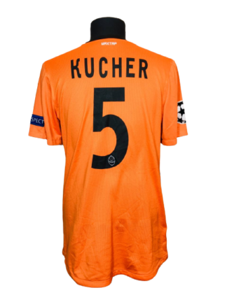 SHAKHTAR 2012/2013 HOME SHIRT #5 KUCHER [MATCH WORN]