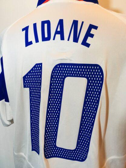 FRANCE 2004/2006 AWAY SHIRT #10 ZIDANE