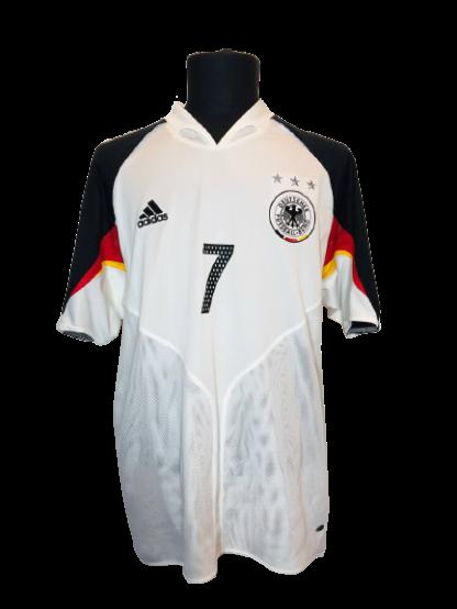 GERMANY 2004/2005 HOME SHIRT #7 SCHWEINSTEIGER