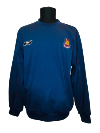 WEST HAM 2003/2005 TRAINING SWEATSHIRT