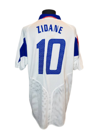 FRANCE 2004/2006 AWAY SHIRT #10 ZIDANE