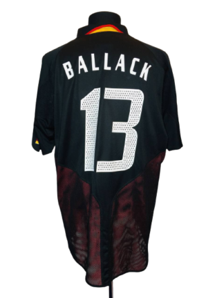GERMANY 2004/2005 AWAY SHIRT #13 BALLACK