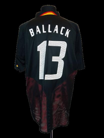 GERMANY 2004/2005 AWAY SHIRT #13 BALLACK