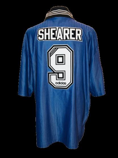 NEWCASTLE UNITED 1996/1997 AWAY SHIRT #9 SHEARER