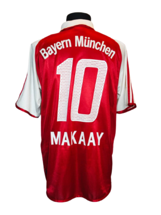 BAYERN MUNICH 2003/2004 HOME SHIRT #10 MAKAAY