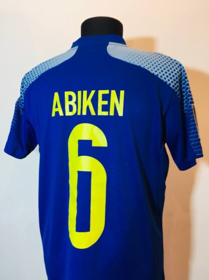 KAZAKHSTAN 2020/2021 HOME SHIRT #6 ABIKEN [MATCH WORN]
