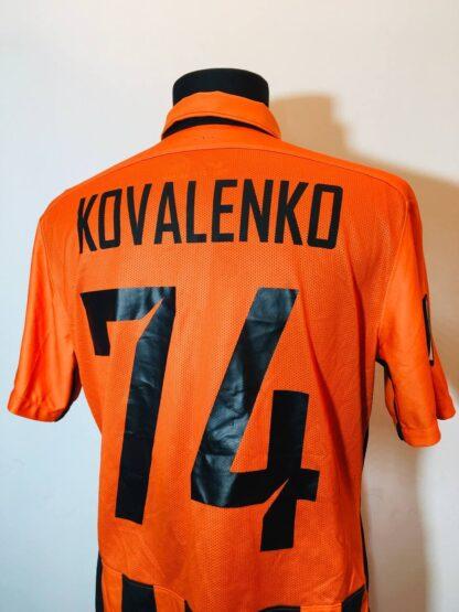 SHAKHTAR 2015/2016 HOME SHIRT #74 KOVALENKO [MATCH WORN]