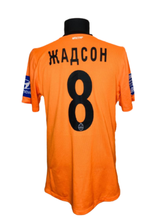 SHAKHTAR 2011/2013 HOME SHIRT #8 JADSON [MATCH WORN]