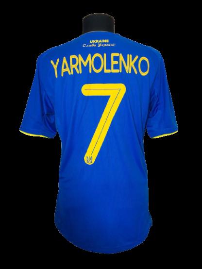 UKRAINE 2020/2021 AWAY SHIRT #7 YARMOLENKO [MATCH ISSUE]