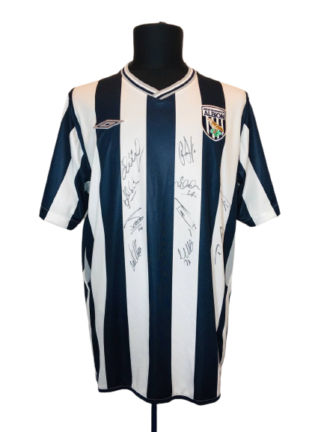 WEST BROM 2009/2010 HOME SHIRT [SIGNED]