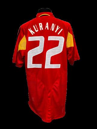 GERMANY 2004/2006 THIRD SHIRT #22 KURANYI