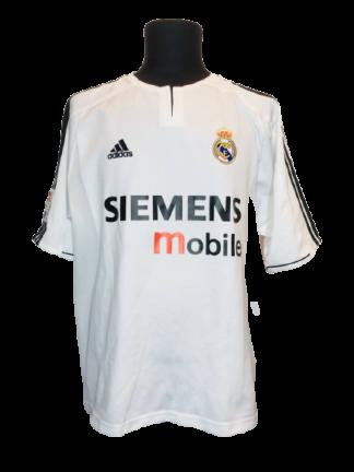 REAL MADRID 2003/2004 HOME SHIRT