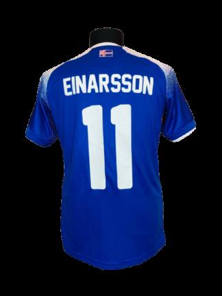 ICELAND 2018/2020 HOME SHIRT #11 EINARSSON