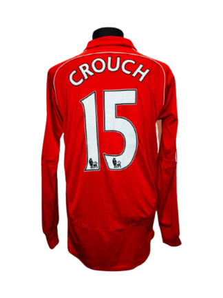 LIVERPOOL 2006/2008 HOME SHIRT #15 CROUCH [L/S]
