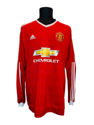 MANCHESTER UNITED 2015/2016 HOME SHIRT [L/S]