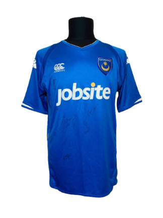 PORTSMOUTH 2009/2010 HOME SHIRT [SIGNED]