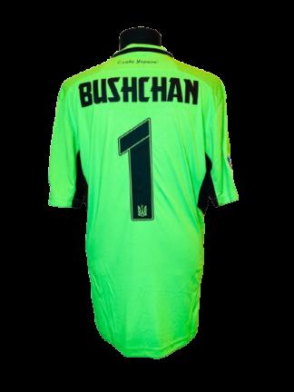 UKRAINE 2021/2022 GK SHIRT #1 BUSHCHAN [MATCH ISSUE]