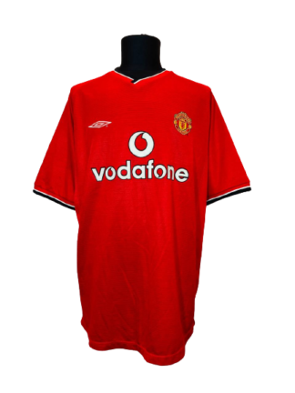 MANCHESTER UNITED 2000/2002 HOME SHIRT