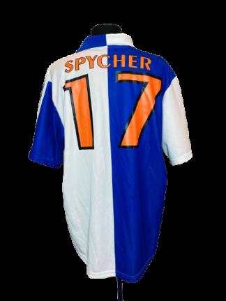 GRASSHOPPERS 2002/2004 HOME SHIRT #17 SPYCHER
