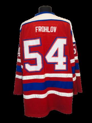 DÜDINGHEN OLD BULLS 1990s JERSEY #54 FROHLOV