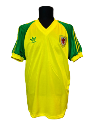 WALES 1981/1982 AWAY SHIRT [RE-ISSUE]